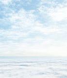 空白冬天 库存照片