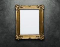 空白剪报框架路径墙壁 免版税库存图片