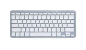 空白剪报计算机键盘路径 免版税图库摄影