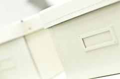 空白办公室配件箱 免版税库存图片