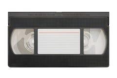 空白卡式磁带录影 库存图片