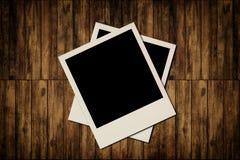 空白即时照片框架 免版税图库摄影