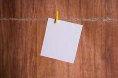 空白即时照片 免版税库存照片