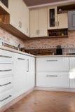 空白厨房 库存照片