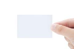 空白名片现有量藏品查出的男 库存图片