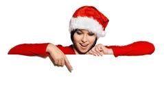 空白圣诞老人符号 库存图片