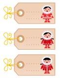 空白圣诞节爱斯基摩-阿留申语开玩笑& 库存图片