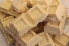 空白巧克力 免版税库存图片