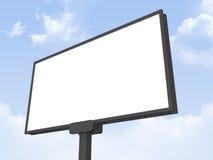 空白广告牌 免版税库存照片