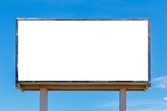 空白广告牌 免版税图库摄影