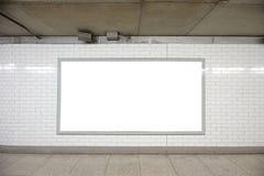 空白广告牌 库存图片