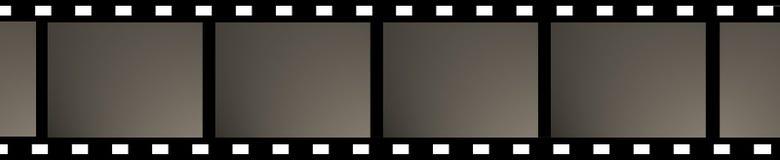 空白影片 免版税库存图片