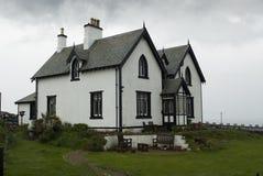 空白房子 免版税图库摄影