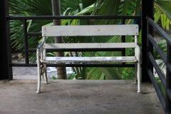 空白扶手椅子 库存图片