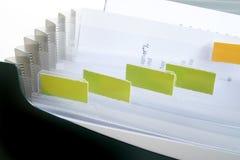 空白文件 库存图片