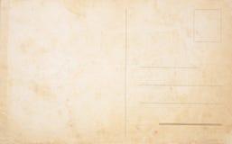 空白明信片 免版税库存照片