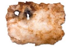 空白映射羊皮纸 库存图片