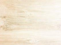 空白木纹理 免版税库存图片