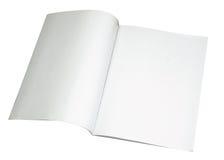 空白杂志路径传播w 免版税库存图片