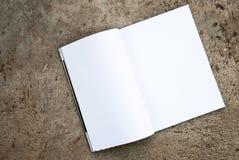 空白杂志 免版税库存图片