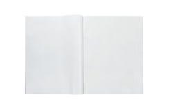 空白杂志 免版税库存照片