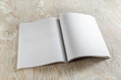 空白杂志 免版税图库摄影