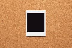 空白构成即时照片 库存照片
