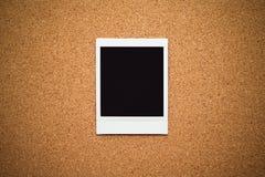 空白构成即时照片 免版税库存图片