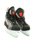 空白查出的新的冰鞋 免版税库存图片