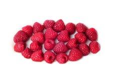 空白查出的莓 免版税图库摄影