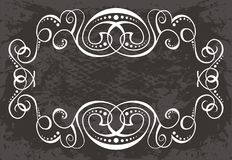 空白标签设计   皇族释放例证
