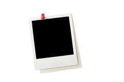 空白框架即时照片 免版税库存照片