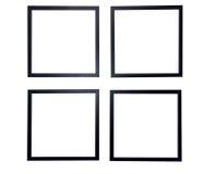 空白框架查出的照片 免版税图库摄影