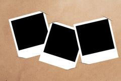 空白框架纸张 库存照片