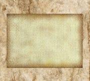 空白棕色模板 免版税库存图片