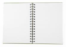 空白棕色笔记本 库存照片
