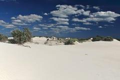 空白沙漠, Nambung国家公园,南西部 免版税库存图片