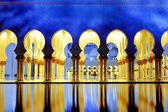 空白清真寺 免版税库存照片