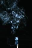空白烟 库存图片