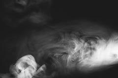 空白烟 免版税库存照片