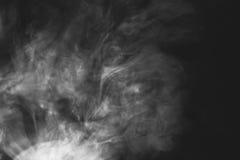 空白烟 免版税库存图片