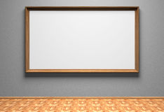空白照片墙壁 免版税库存照片