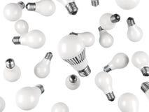 空白电灯泡 免版税库存照片
