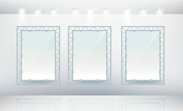 空白画布三 免版税库存图片