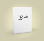 空白的书正面图  库存照片