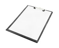 空白的剪贴板 免版税库存图片