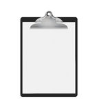 空白的剪贴板- XL 免版税库存图片