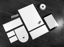 空白的品牌身份 图库摄影