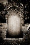 空白的墓石 免版税图库摄影