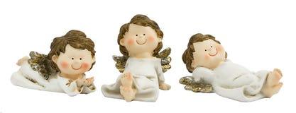 空白的天使 库存图片